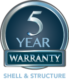 5-year-warranty-seal-shell-structure logo