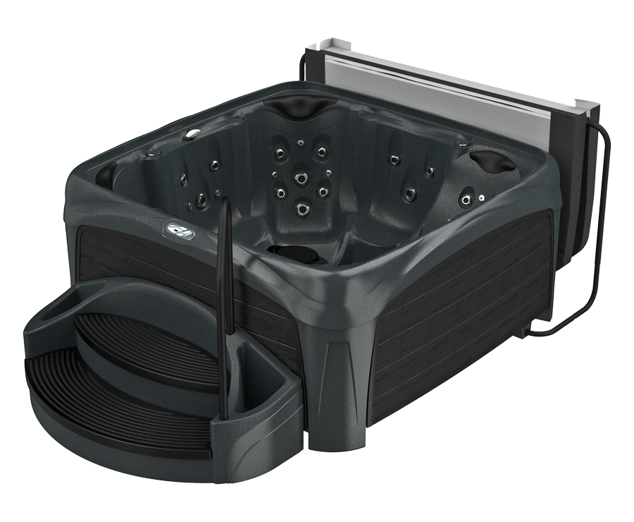 740L hot tub suite