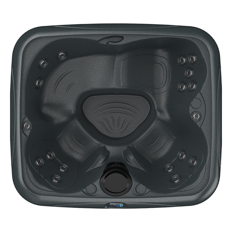 EZL black hot tub top view